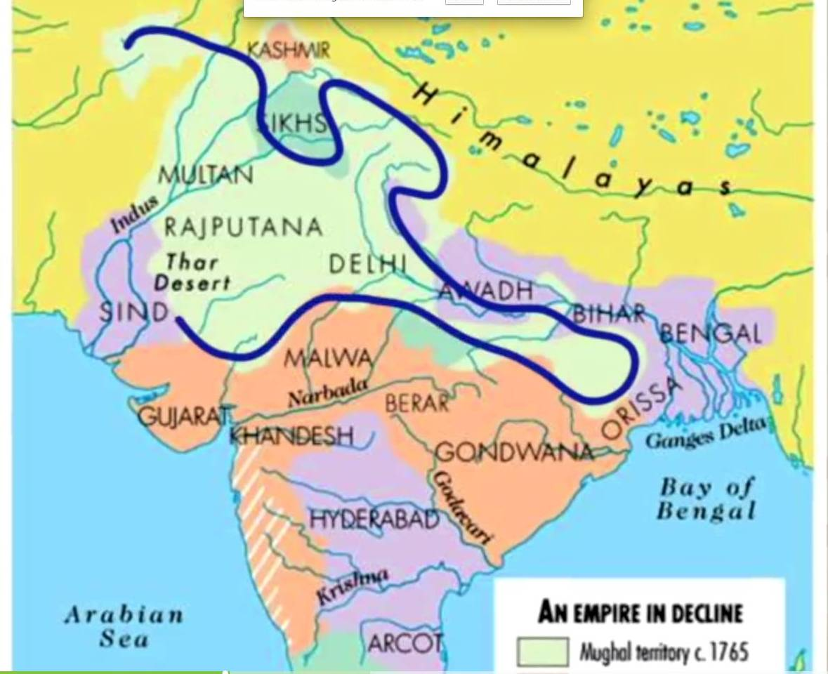 Image result for Khilji Dynasty map
