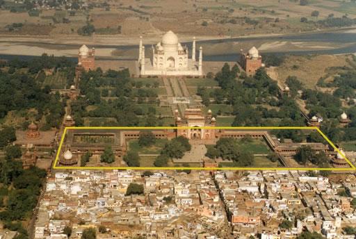 Advertisements - Taj Mahal Complex – Site Layout – Subratachak