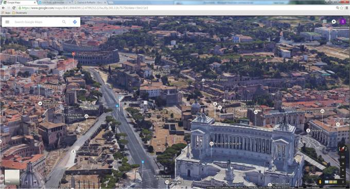 frommer s rome map google - photo#40