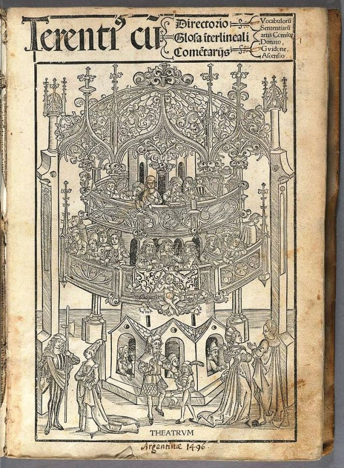 1496 edition of Terence's Works
