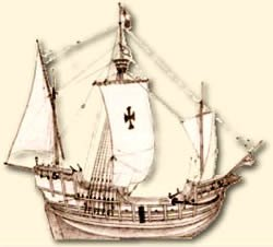The Santa Maria Columbus's flagship