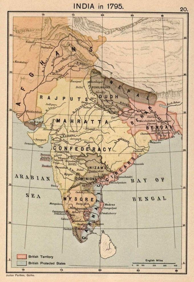 India-Kingdoms-In-1795